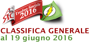 Classifica generale 19 giugno 2016